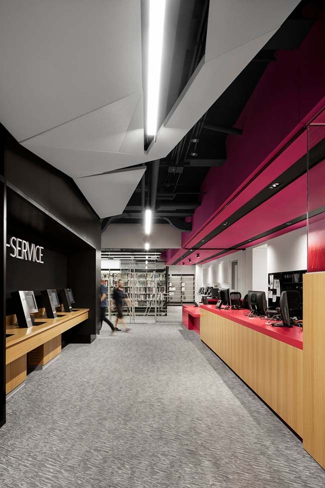Concordia University S New Webster Library In Montreal