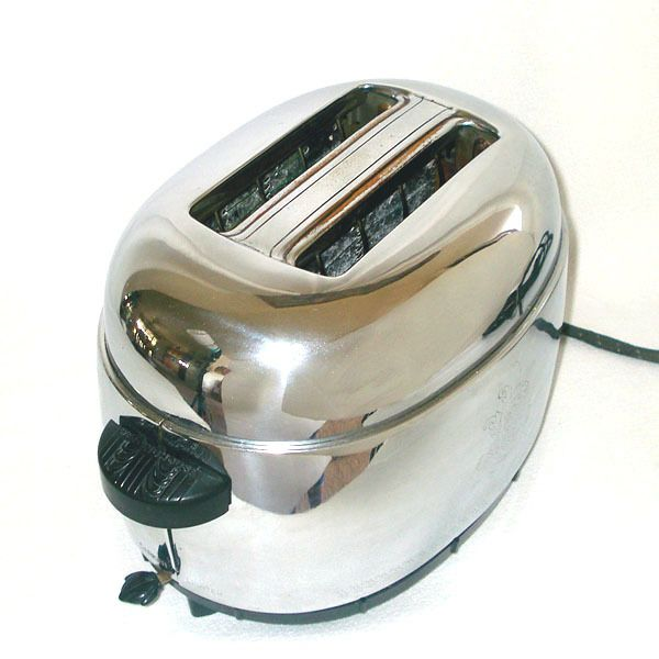 Westinghouse 1940s Chrome Toaster Model To 71 Kitchen