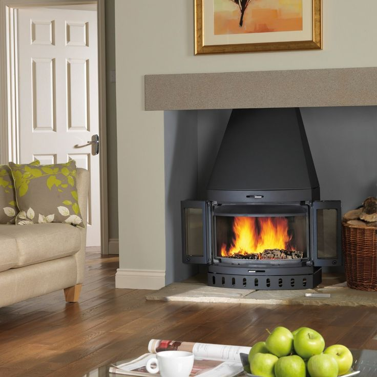 J 248 Tul I 400 Is A Medium Sized Fireplace Insert With A