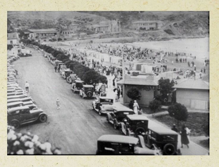 Playa chica de Cartagena 1930