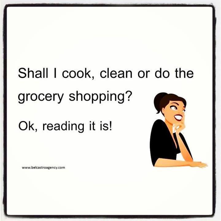 Reading it is!