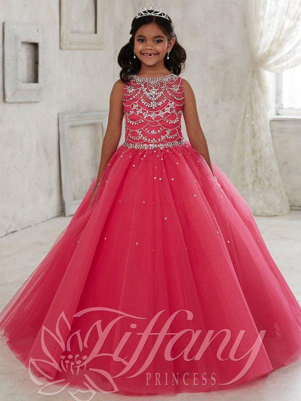 robes de fille robe enfant robe filles fleur mariage girl peagant birthday 2-14 | eBay
