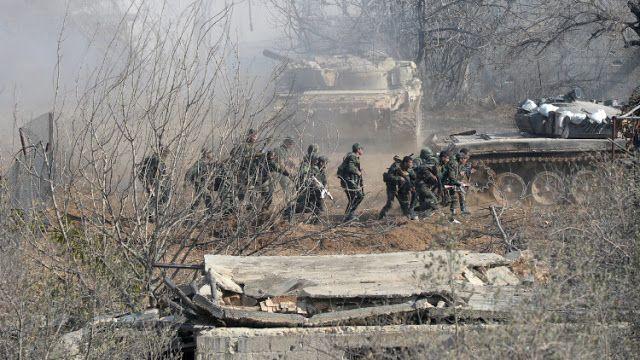 El Ejército sirio fue bombardeado con morteros anoche desde el territorio turco, denunció este sábado el  general de brigada Alí Maihub.