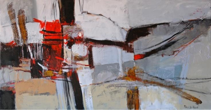 Red 3. By Rika De Klerk