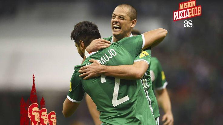 Con goles de Chicharito y Araujo ganan a Costa Rica y México es líder rumbo a Rusia 2018 | El Puntero