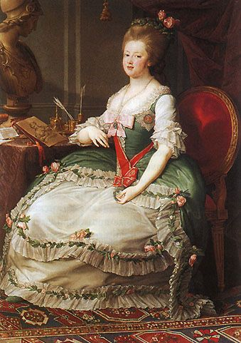 Portrait of Maria Feodorovna (Sophie Dorothea of Württemberg) after Pompeo Batoni, 1782-87 Russia