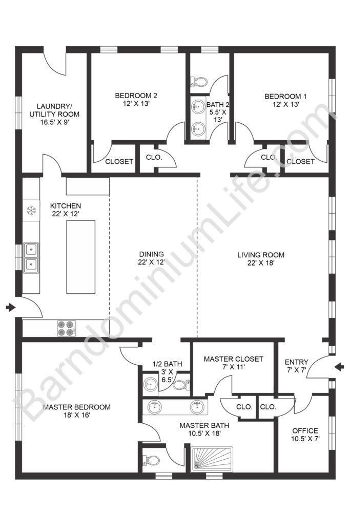 Before You Take The Plunge And Commit To A Floorplan Read Through These Consideration In 2020 Barn Homes Floor Plans Open Concept House Plans Barndominium Floor Plans