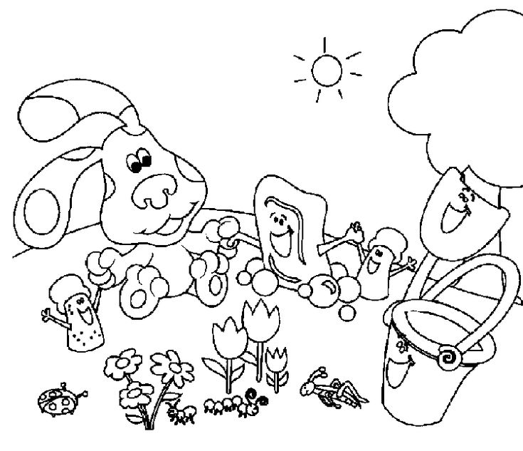 blues clues birthday coloring pages - 110 best images about birthday on pinterest pinata cake