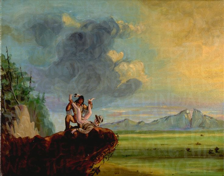 Daniel Boone's First View of the Kentucky Valley