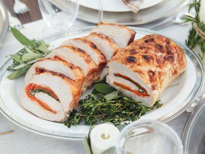 Tricolore Stuffed Pork