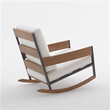 Pes 25 nejlepch npad na tma Modern Outdoor Rocking Chairs na