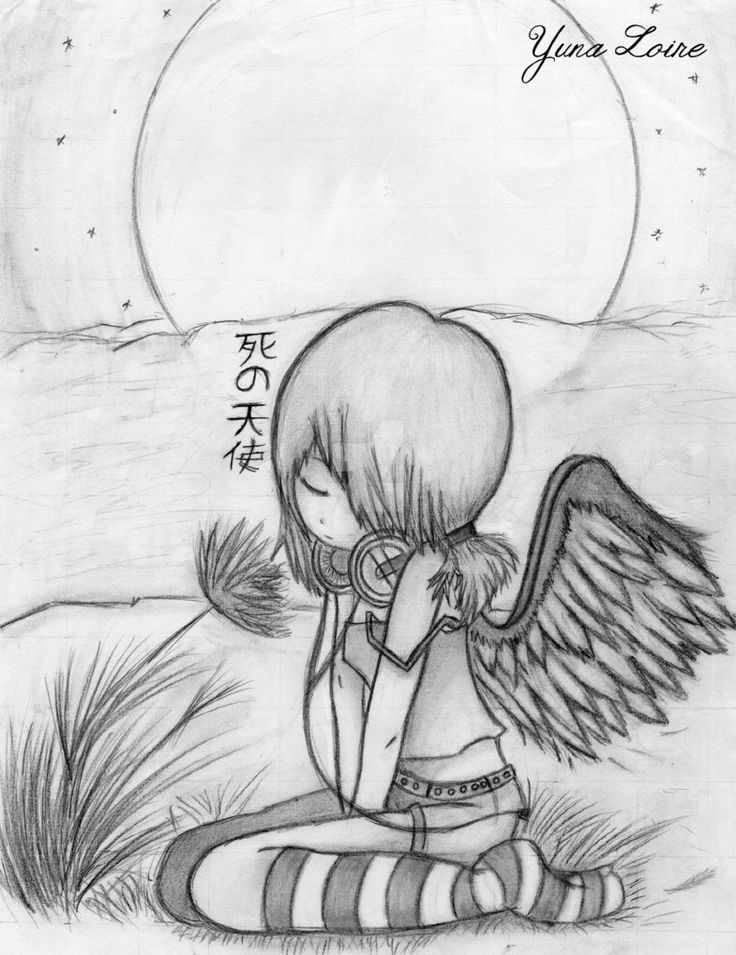 Profilbild // Shi no Tenshi 2 by YunaLoire <<<< Uncolored Version