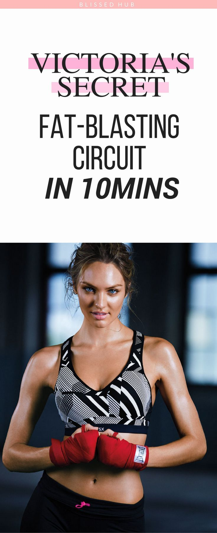 VICTORIA'S SECRET FAT-BLASTING CIRCUIT IN 10 MINUTES - Train, Fitness, Workouts, Health and fitness, exercises, beginners, inspiration, fitness motivation, fitness inspiration - I can't believe how easy and quick these exercises are! The fact that the Angels do these exercises makes me even more motivated to keep going!