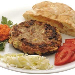 Pljeskavica Montenegrói Gurman módra - Megrendelhető itt: www.Zmenu.hu - A vizuális ételrendelő.