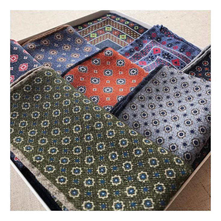 NEW pocketsquares #collection #autumn #winter #menstyle #style