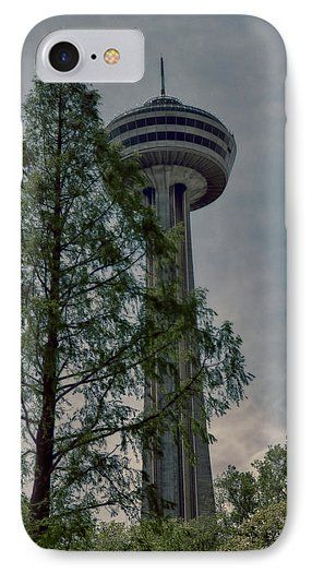 Looking Up At The Skylon Phone Case for Sale by Leslie Montgomery.