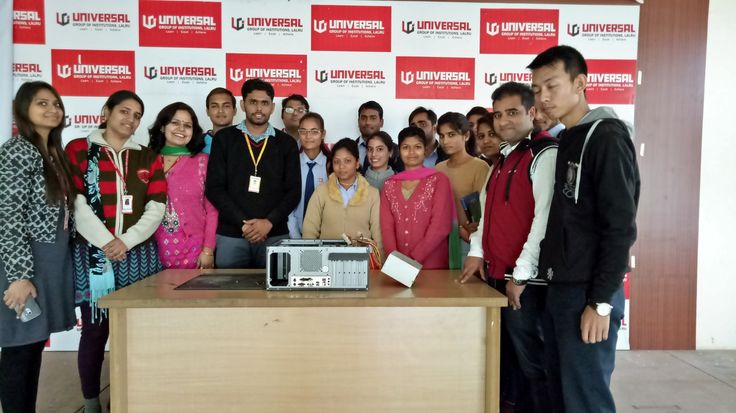 Universal Group of Institutions established in 2009 by eminent academicians and educationists to provide quality education. Universal Group of Institutions offers various courses like BTech, MTech, Polytechnic, MBA, BBA, BCA, ATHM, HMCT, BSc (Agriculture), BCom Professional, BA, BSc Nursing, ANM, GNM, M.Ed, B.Ed, ETT, LLB, BALLB, BAMS and B.Pharmacy.
