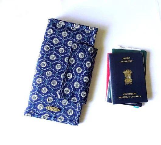 Family Travel Wallet for 4 6 or 8 Passport Holder passport