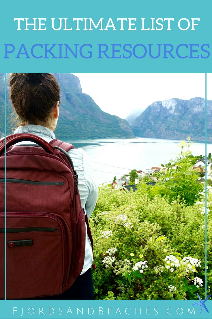 The ULTIMATE list of packing resources. How to pack. Packing guides. Travel planning and packing resources.