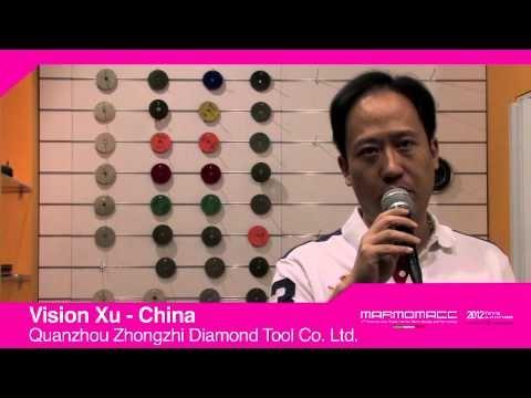 Marmomacc 2012: Vision Xu interview (Quanzhou Zhongzhi Diamond Tool, China)