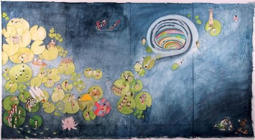 동화 같은 그림 속 잔혹무도한 이야기 | Daum 미디어다음: Crafts 韓國工艺, Cm 2012, Kyung Jeon, Art Design Inspiration, Korea Artistry, Jeon 2012, Korean Art, Jeon Waterlili, Art 韓國手繪