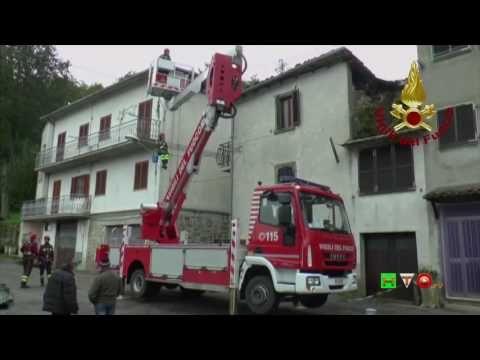 Sisma centro Italia - Soccorsi dei Vigili del Fuoco - Faete 16 Ottobre -...