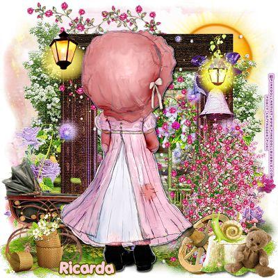 "MI RINCÓN GÓTICO: CT Pink.Doll.Bubble, ""Aquarell-031"""