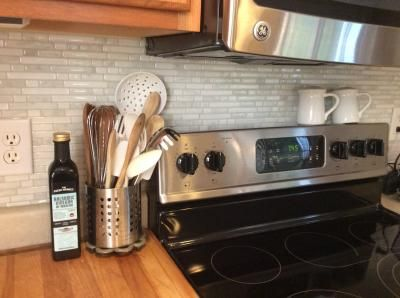 Stickable Kitchen Backsplash