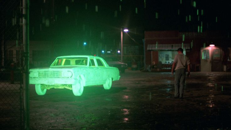 '64 Chevelle with radioactive junk in the trunk--Repo Man