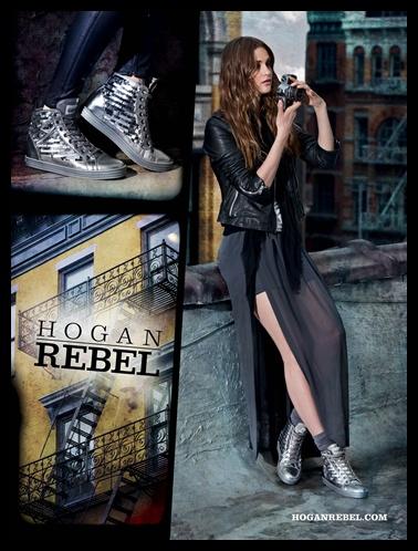 HOGAN REBEL Women's Fall - Winter 2012/13 Campaign