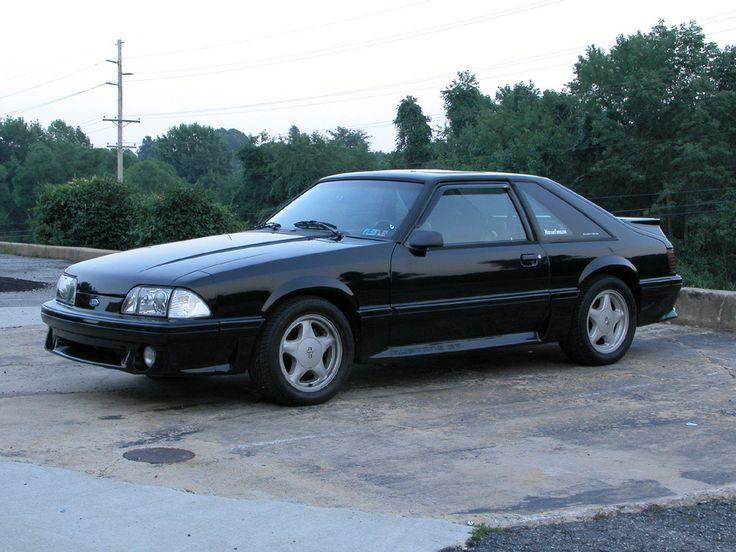 1993 Mustang Black