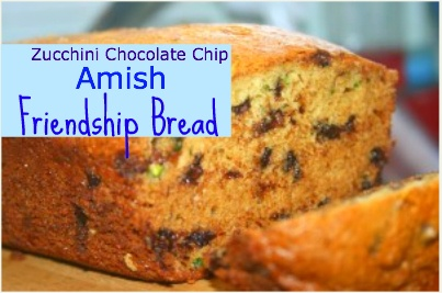 Zucchini Amish Friendship Bread