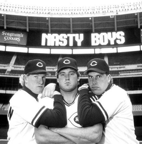 the nasty boys cincinnati reds   The Nasty Boys: Norm Charlton, Randy Myers, Rob Dibble