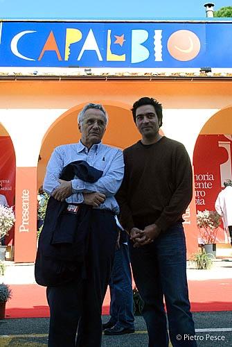 Marco Bellocchio e Saverio Costanzo a #capalbiocinema #capalbio #piratiacapalbio #cinema