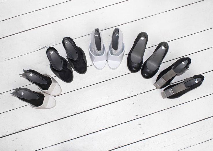 Conceptual form of women's shoes. Iga Węglińska - conceptual fashion designer  www.igaweglinska.com