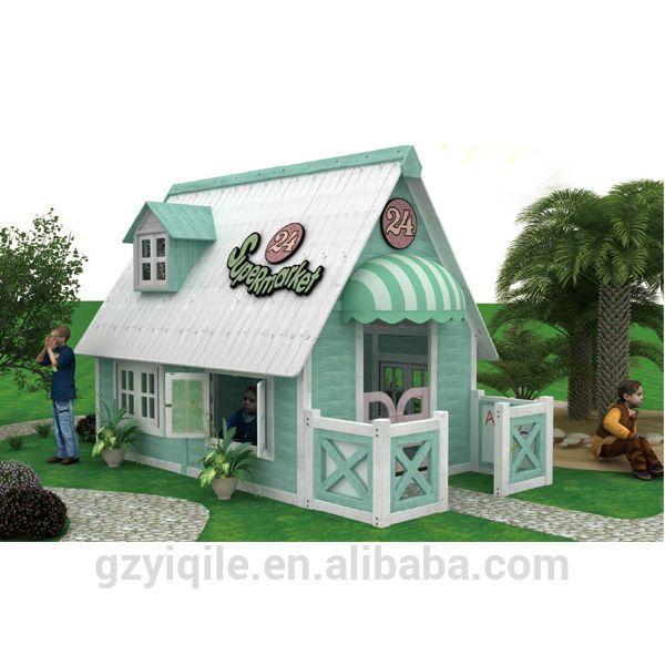 высокое качество открытый детский деревянный домик для игр-Детский шкаф-ID продукта:2000267687-russian.alibaba.com