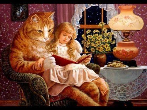 Стихи для детей в исполнении смешного кота Рыжика