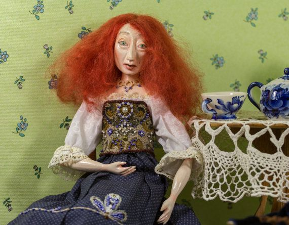 Handmade dolls. The doll made of wood. Perfect by BASTET11HandMade