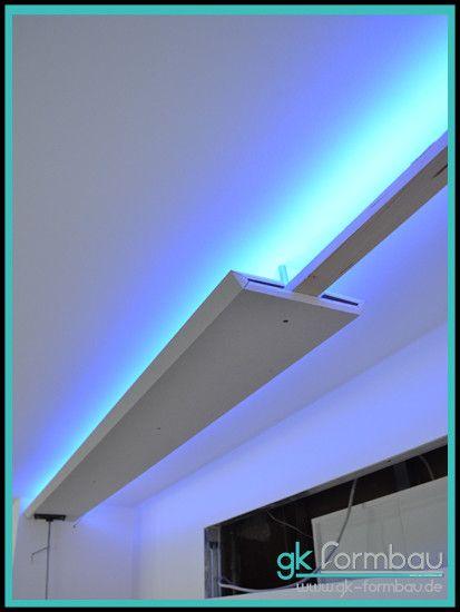 Popular Indirekte LED Beleuchtung aus Gipskarton Preiswerte und Kreative Wohnraumbeleuchtungen vom Profi