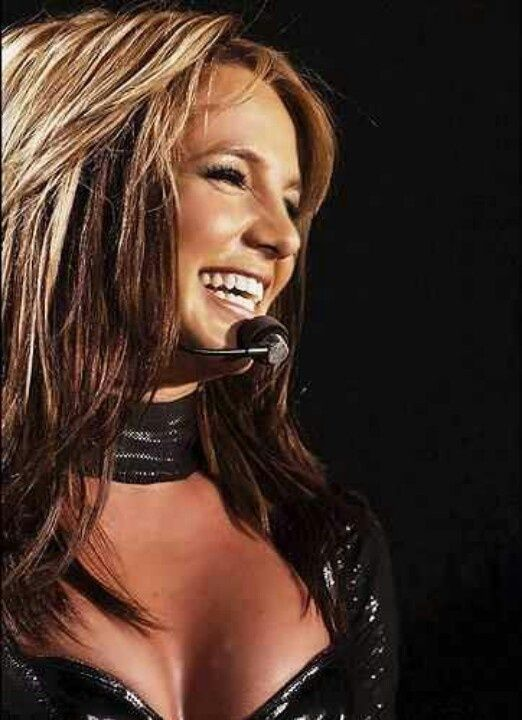 Britney Spears Onyx Hotel Tour Brown Hair