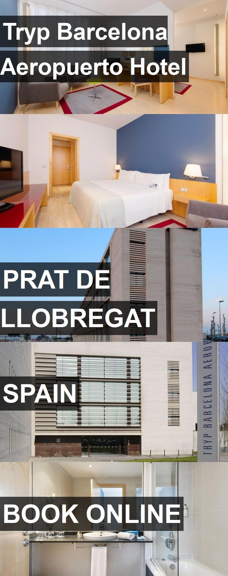 Hotel Tryp Barcelona Aeropuerto Hotel in Prat de Llobregat, Spain. For more information, photos, reviews and best prices please follow the link. #Spain #PratdeLlobregat #TrypBarcelonaAeropuertoHotel #hotel #travel #vacation
