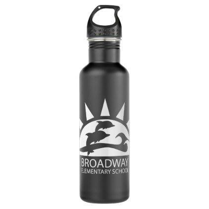 Broadway Logo Water Bottle - home decor design art diy cyo custom