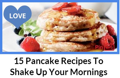 Tired of the usual breakfast menu? We have a great idea for something different. Check out our list of 15 amazing pancakes recipes and start your day with a delicious meal! Pancakes are easy to cook and come in a wide variety of tastes. From banana, caramel peanut, pumpkin and pancakes with blueberry syrup to cheese and tarragon, choose your favorite and enjoy the perfect morning. These pancakes are great breakfast for weekends and your family, especially your kids will love them. Check out