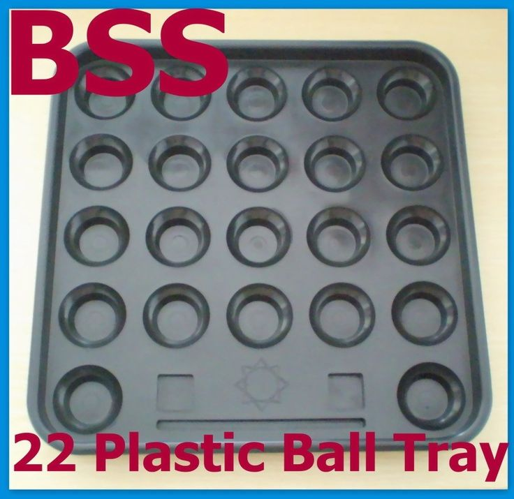 8.99$  Buy here - http://alidnx.shopchina.info/go.php?t=32756177138 - Free Shipping 1set/lot black Plastic Pool 22 Ball Tray Billiards snooker table Storage NEW  #bestbuy