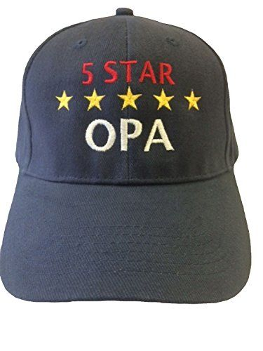 "Free shipping on eligible purchases! ""5 Star Opa"" Grandpa in German Baseball Hat One Size Blue G4FF http://www.amazon.com/dp/B00NIGGY4Y/ref=cm_sw_r_pi_dp_Q6Pzvb0VNVRZD"