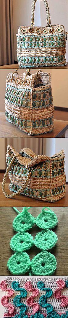 Красивая дизайнерская сумка от Jamin PUECH - Рукоделие