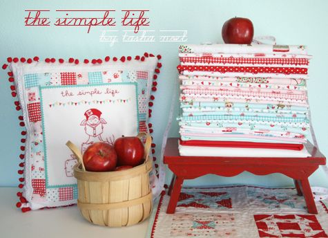 The Simple Life fabric line.: Blake Design, Life Fabrics, Tasha Noel Fabrics, Thesimplelif Fabrics, The Simple Life, Sewing Ideas, Design Tidbit, Jolly Jabber, Quilts Ideas