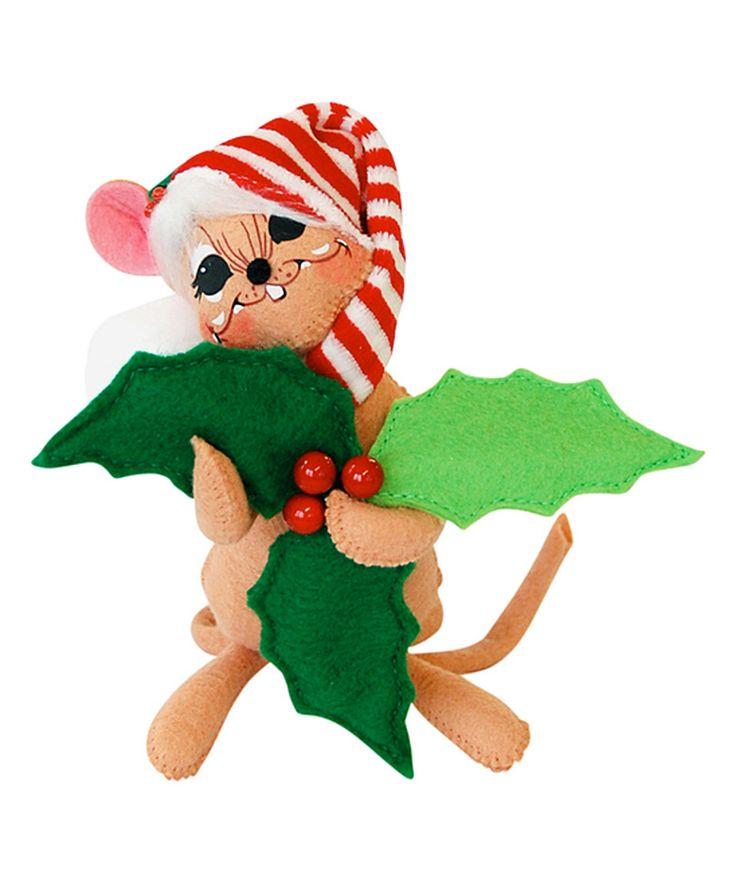 Vintage Christmas Decorations Mouse Carolers Set Jasco: VTG Annalee Lrg Christmas Caroler Mouse Top Hat Music Book