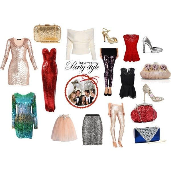 """New Year's Party"" by nikousek on Polyvore"