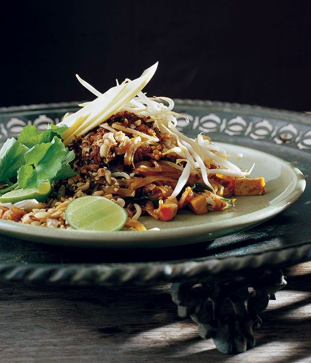 Australian Gourmet Traveller recipe for Pad Thai by David Thompson from London restaurant Nahm.